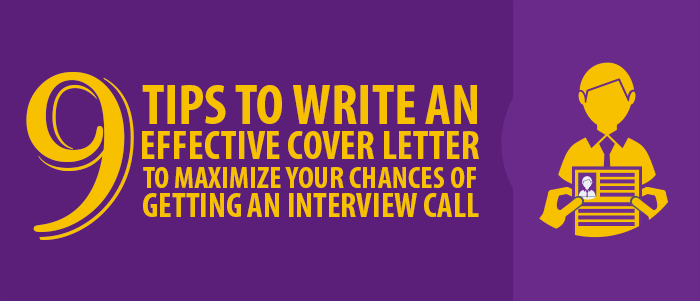 write effective cover letter