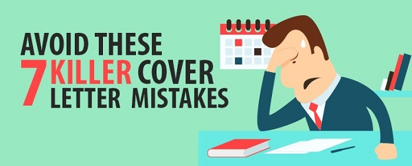 Avoid These  Killer Cover Letter Mistakes  Resume  Cover Letters