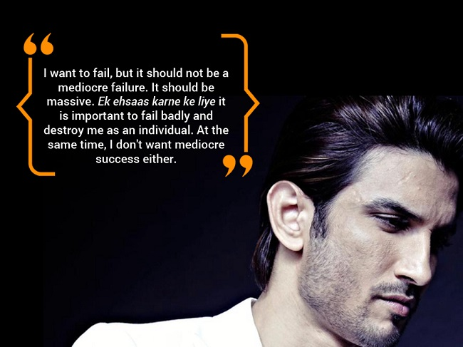 5 quotes that prove Sushant Singh Rajput believes if you ...