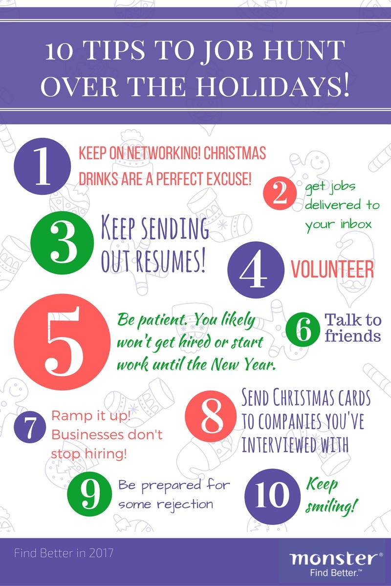Xmas Job Search Tips