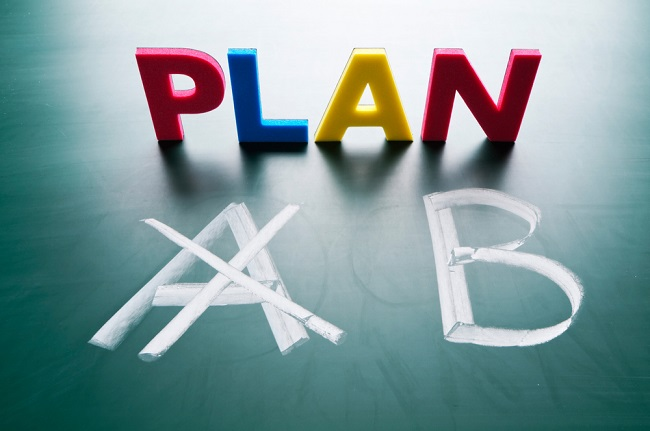How do you create a Plan B for your career