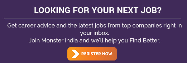 Sign up Monster India