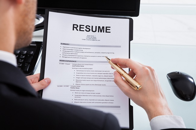 Tips for winning resume