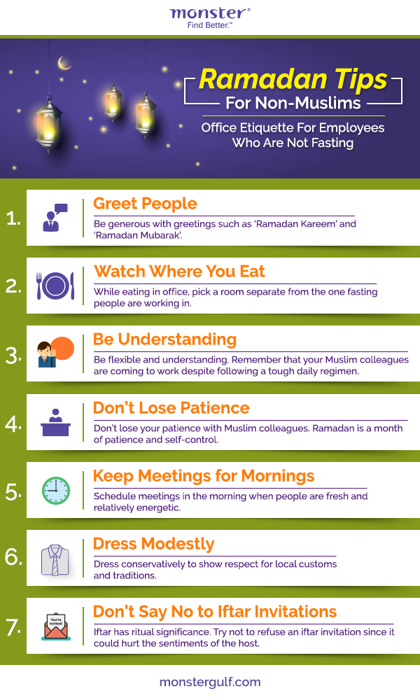ramadan at the workplace  a guide for non