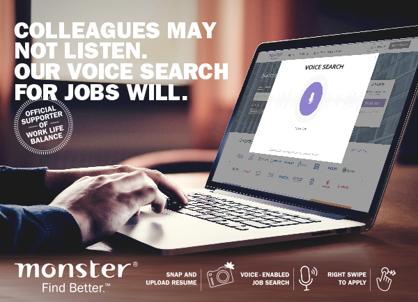 Monster Voice Search
