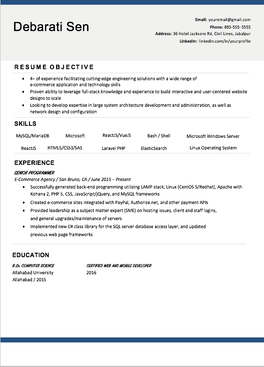 Choose the Best Resume Template for You - Resume & Cover