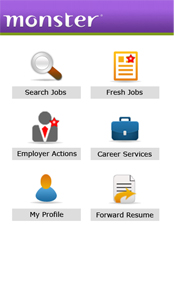 job search on mobile sms job search mobile job search monster