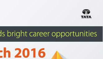 TATA CONSULTANCY SERVICES - Enhance your journey towards bright career opportunities - Saturday, 5 March 2016